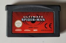 Covers Ultimate Spider-Man gameboyadvance