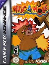 Covers Whac-A-Mole gameboyadvance