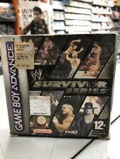 Covers WWE Survivor Series gameboyadvance