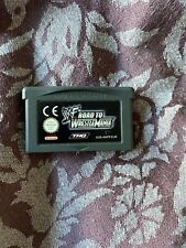 Covers WWF Road to WrestleMania gameboyadvance