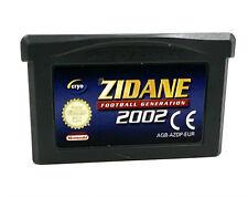 Covers Zidane Football Generation 2002 gameboyadvance
