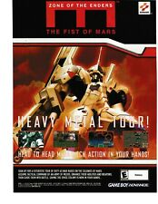 Covers Zone of the Enders: The Fist of Mars gameboyadvance