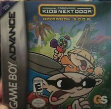 Covers Codename: Kids Next Door - Operation S.O.D.A. gameboyadvance