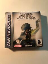 Covers Désastreuses Aventures des orphelins Baudelaire gameboyadvance