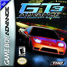 Covers GT Advance 3: Pro Concept Racing gameboyadvance