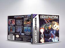 Covers Iridion II gameboyadvance