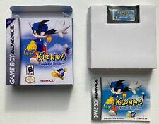 Covers Klonoa: Empire of Dreams gameboyadvance