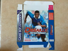 Covers Marcel Desailly Football Advance gameboyadvance