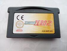 Covers Mega Man Zero gameboyadvance