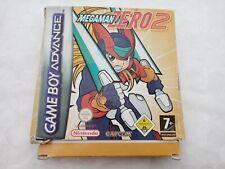 Covers Mega Man Zero 2 gameboyadvance