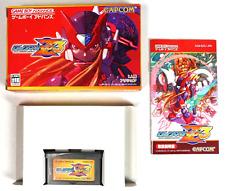 Covers Mega Man Zero 3 gameboyadvance