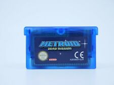 Covers Metroid: Zero Mission gameboyadvance