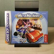 Covers Micro Machines gameboyadvance