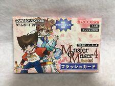 Covers Monster Maker 4: Flash Card gameboyadvance