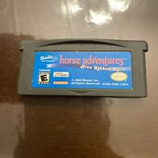Covers Barbie Horse Adventures: Blue Ribbon Race gameboyadvance