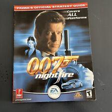Covers James Bond 007: NightFire gamecube