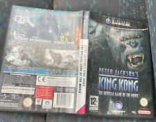 Covers King Kong gamecube