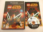 Covers LEGO Star Wars, le jeu vidéo gamecube