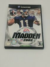Covers Madden NFL 2002 gamecube
