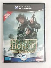Covers Medal Of Honor : En Premiere Ligne gamecube