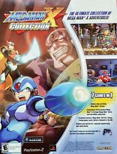 Covers Mega Man X Collection gamecube
