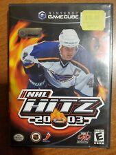 Covers NHL Hitz 2003 gamecube