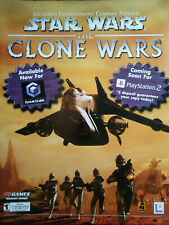 Covers Star Wars: The Clone Wars gamecube