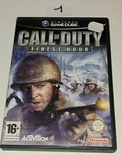 Covers Call of Duty: Finest Hour gamecube