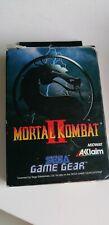 Covers Mortal Kombat II gamegear_pal