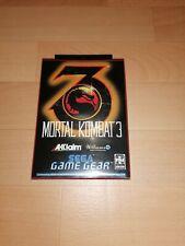 Covers Mortal Kombat 3 gamegear_pal