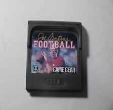 Covers Joe Montana Football gamegear_pal