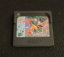 Covers Land of Illusion starring Mickey Mouse gamegear_pal