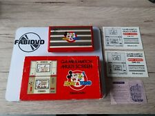 Covers Mickey & Donald  gamewatch