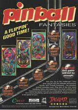 Covers Pinball Fantasies jaguar
