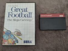 Covers Great Football mastersystem_pal