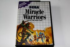 Covers Miracle Warriors: Seal of the Dark Lord mastersystem_pal