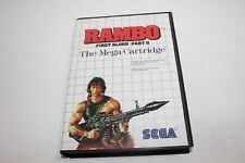 Covers Rambo : First Blood Part II mastersystem_pal