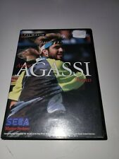 Covers Andre Agassi Tennis mastersystem_pal