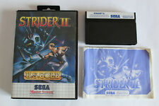 Covers Strider 2 mastersystem_pal