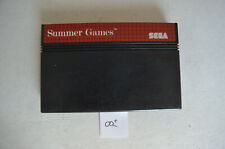 Covers Summer Games mastersystem_pal