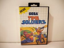 Covers Time Soldiers mastersystem_pal