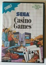 Covers Casino Games mastersystem_pal