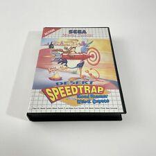 Covers Desert Speedtrap mastersystem_pal