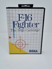 Covers F-16 Fighter mastersystem_pal