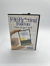 Covers F-16 Fighting Falcon mastersystem_pal