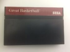 Covers Great Basketball mastersystem_pal