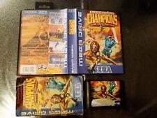 Covers Eternal Champions megadrive_pal