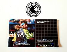 Covers Andre Agassi Tennis megadrive_pal