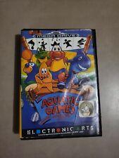 Covers Aquatic Games, The starring James Pond and the aquabats megadrive_pal