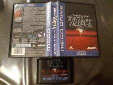 Covers Warlock megadrive_pal